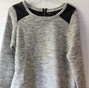 LANE BRYANT | Silver Metallic Sweater Size 18/20